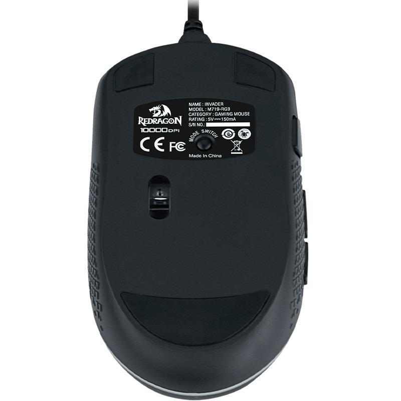 Mouse Redragon Invader M719 RGB
