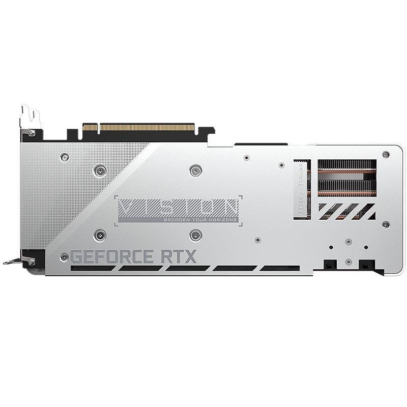 Placa de Video Gigabyte RTX 3070 VISION OC 8GB GDDR6