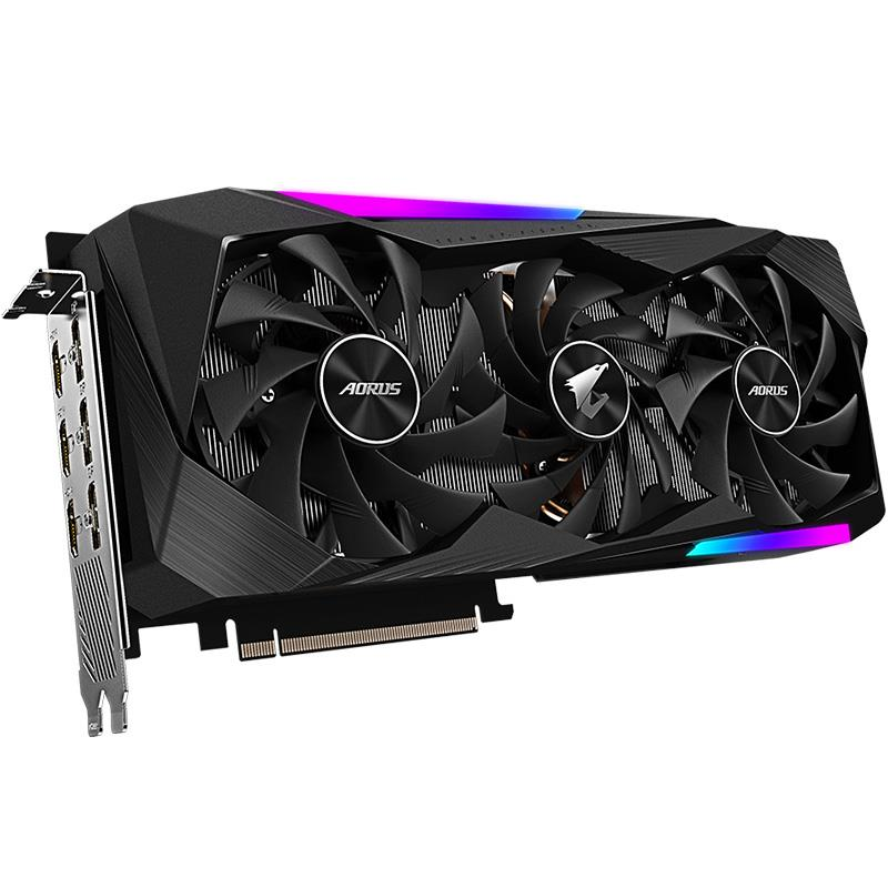 Placa de Video Gigabyte Geforce RTX 3070 Aorus Master 8GB GDDR6