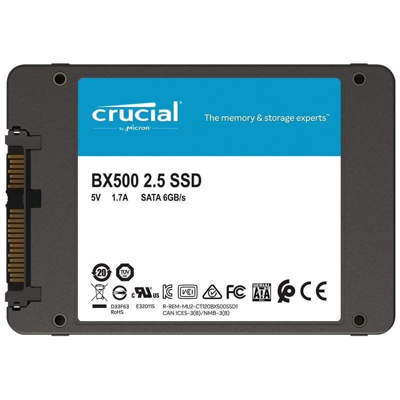 Disco Solido SSD 480GB Crucial BX500