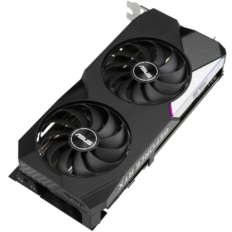 Placa de Video Asus Nvidia Geforce RTX 3070 Dual OC 8GB GDDR6