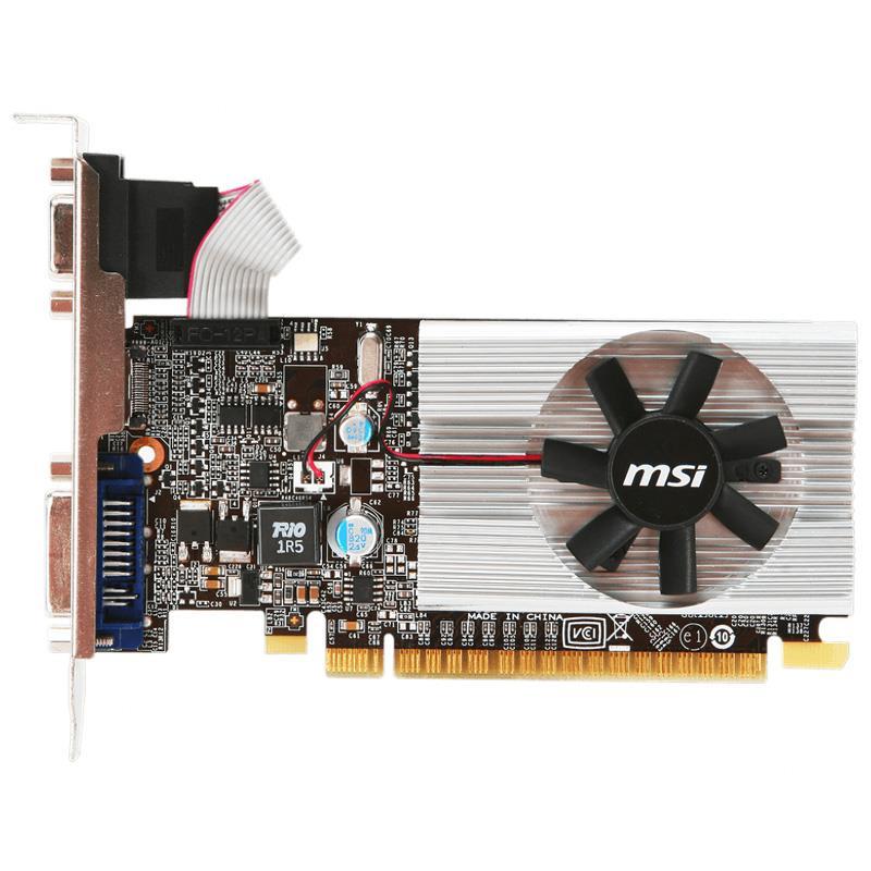 Placa de Video MSI GT 210 LP 1GB Ddr3