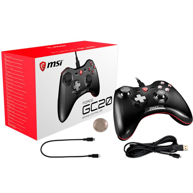 Joystick MSI Force GC20 Wired PC