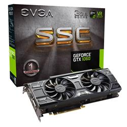 Vga Pci-E EVGA GeForce GTX 1060 ACX 3.0 3Gb SSC