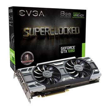 Placa de Video EVGA GTX1080 8Gb Ddr5 ACX 3.0