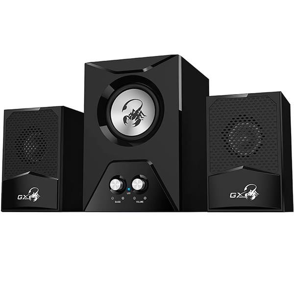 Parlantes Genius GX Gaming SW-G2.1 500 15W Black