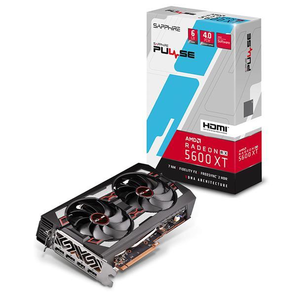 Placa de Video Sapphire PULSE RX 5600 XT 6GB GDDR6 hdmi