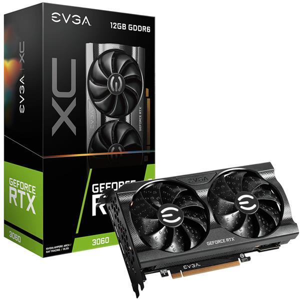 Placa de Video EVGA GeForce RTX 3060 XC GAMING 12GB GDDR6