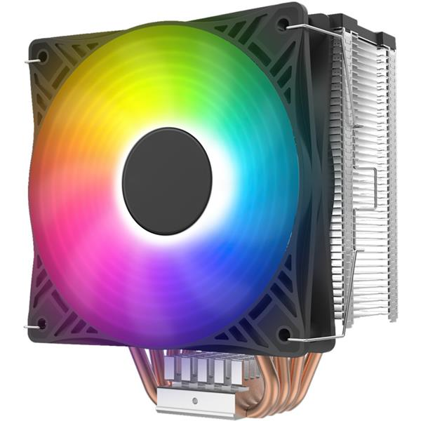 CPU COOLER PCCOOLER X4S SILENT CPU PWM 120MM FIXED RGB