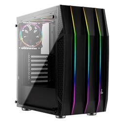 Gabinete Aerocool Klaw Black Tempered