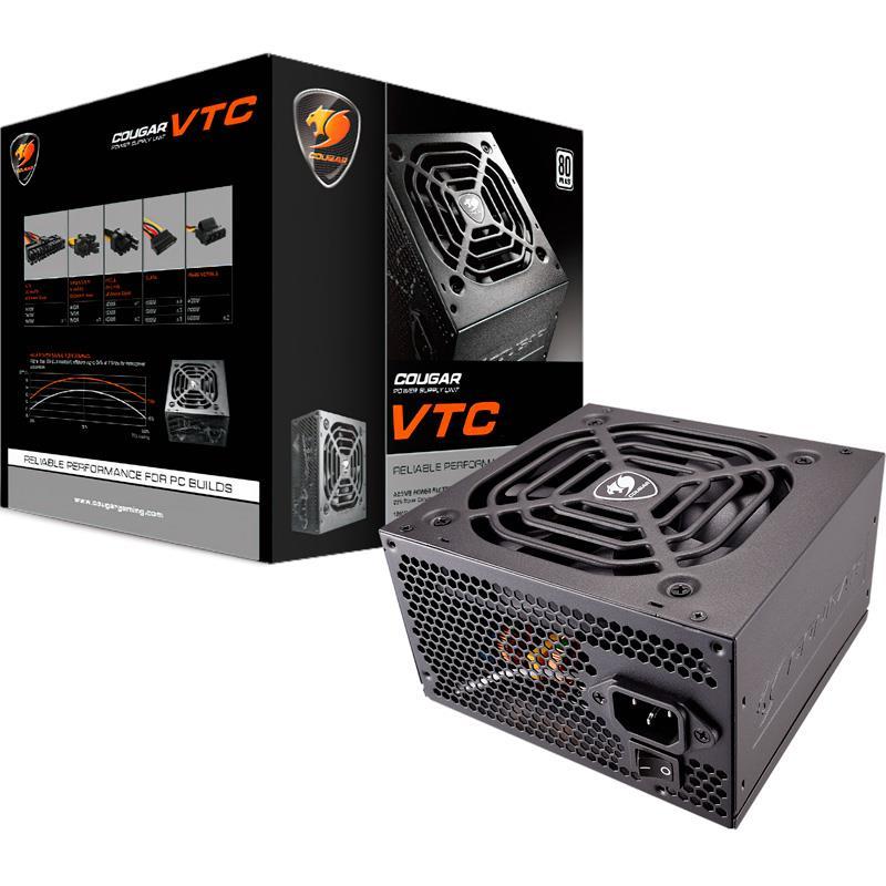 Fuente 500W Cougar VTC500 80 PLUS White
