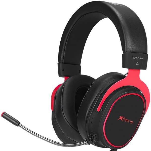 Auricular c/mic Xtrike Me GH-899 LED Rojo
