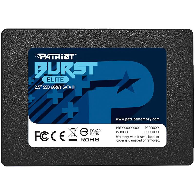 Disco Solido SSD 120GB Patriot Burst Elite