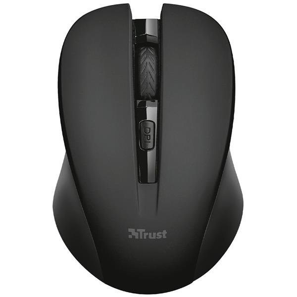 Mouse Inalambrico Trust Mydo Black