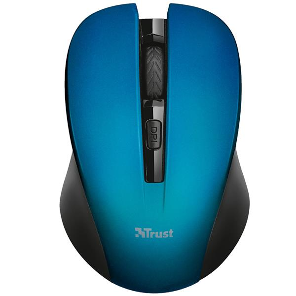 Mouse Inalambrico Trust Mydo Blue