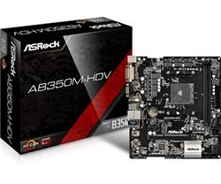 Mother Asrock (AM4+) AB350M-HDV