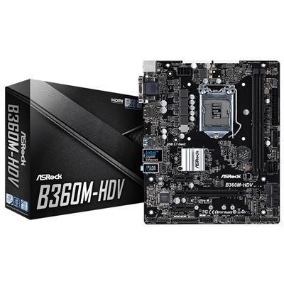 MOTHER ASROCK (1151) B360M-HDV DDR4