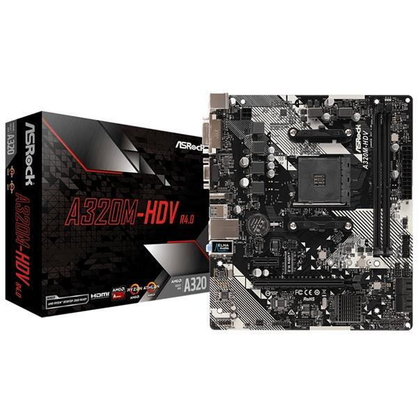 Motherboard Asrock A320M - HDV R4.0 AM4