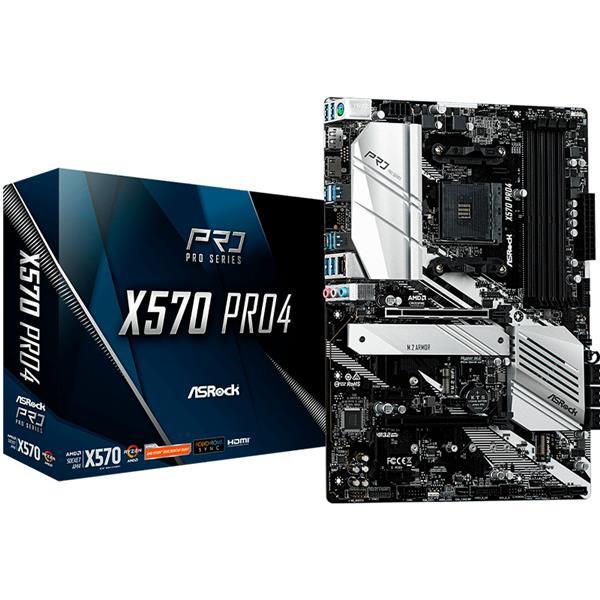 Motherboard Asrock X570 PRO4 AM4