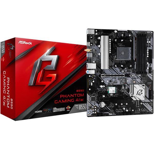Motherboard Asrock B550 Phantom Gaming 4/ac AM4