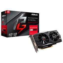 Placa de Video Asrock Rx570 Phantom Gaming D 4Gb OC GDDR5