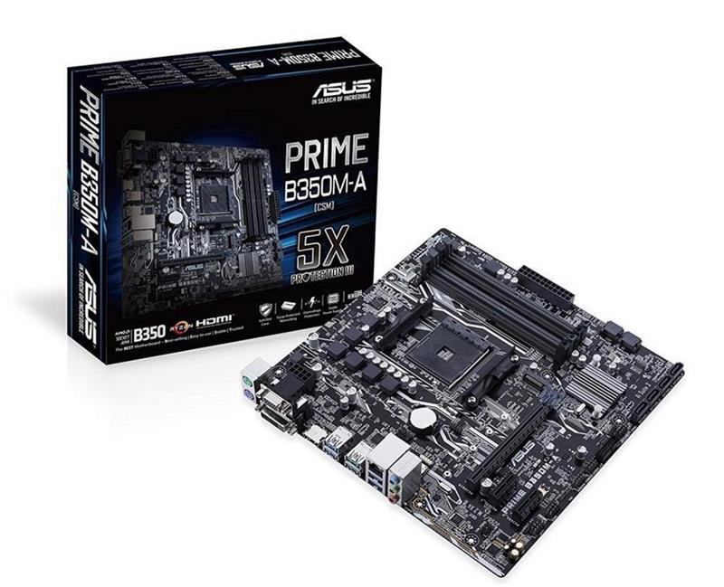 Mother Asus (AM4+) B350M-A Prime