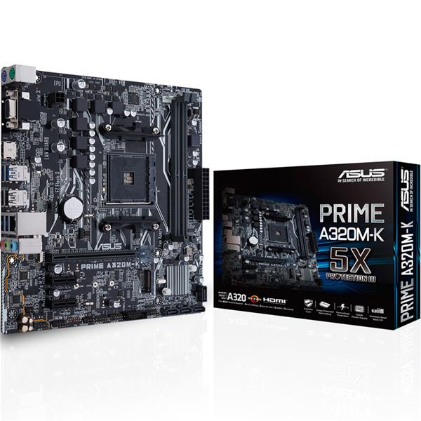 Mother Asus (AM4+) A320M-K Prime