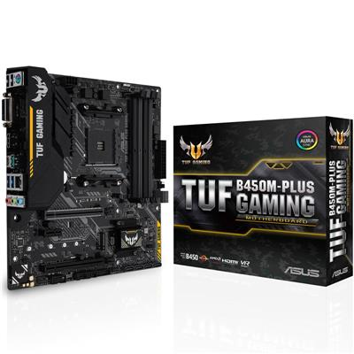 Mother Asus (AM4+) B450M-PLUS TUF GAMING