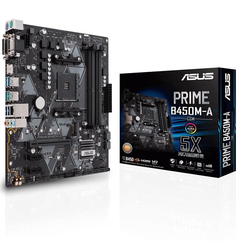 Mother Asus (AM4+) B450M-A Prime CSM