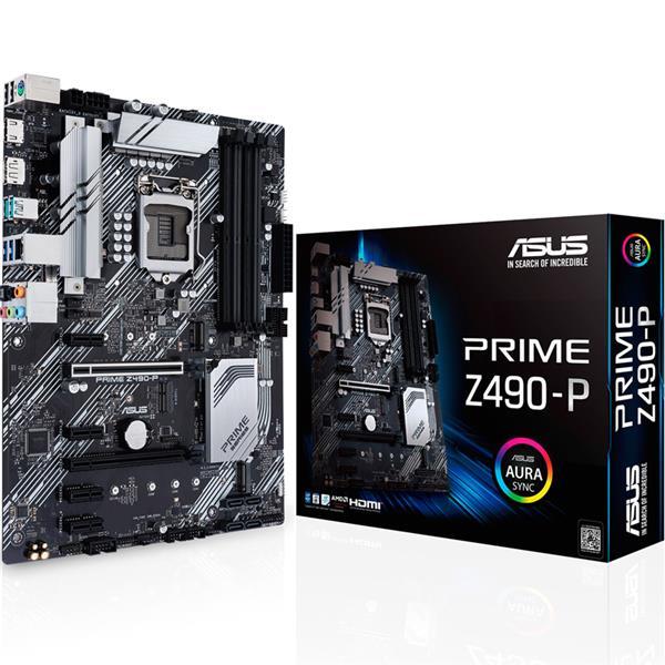 Mother Asus (1200) Z490 Prime P