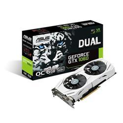Placa de Video Asus GeForce GTX1060 DUAL OC 6Gb