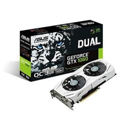 Vga Pci-E Asus GeForce GTX 1060 DUAL OC 3Gb