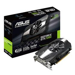 Placa de Video Asus GeForce GTX1060 6Gb Phoenix DDR5