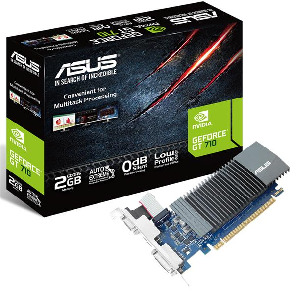 Placa de Video Asus GT 710 2Gb LP GDDR5