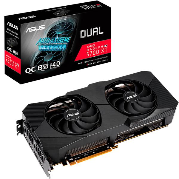 Placa de Video Asus Radeon Rx 5700 XT DUAL EVO O8G