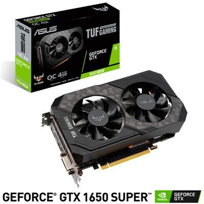 PLACA DE VIDEO ASUS NVIDIA GEFORCE GTX 1650 SUPER TUF OC 4GB GDDR6