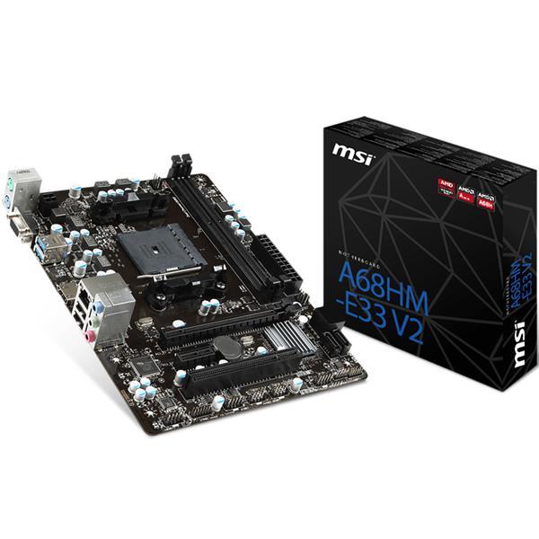 Mother MSI (FM2) A68HM-E33 V2 DDR3