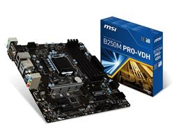 Mother MSI (1151) B250M Pro-VDH DDR4