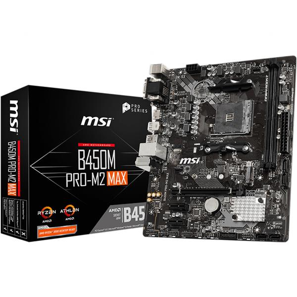 Mother MSI (AM4+) B450M PRO-M2 MAX