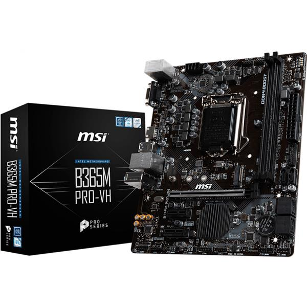 Motherboard MSI B365M Pro-VH 1151
