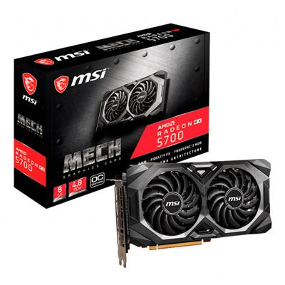 Placa de Video MSI Radeon RX 5700 MECH OC 8GB GDDR6