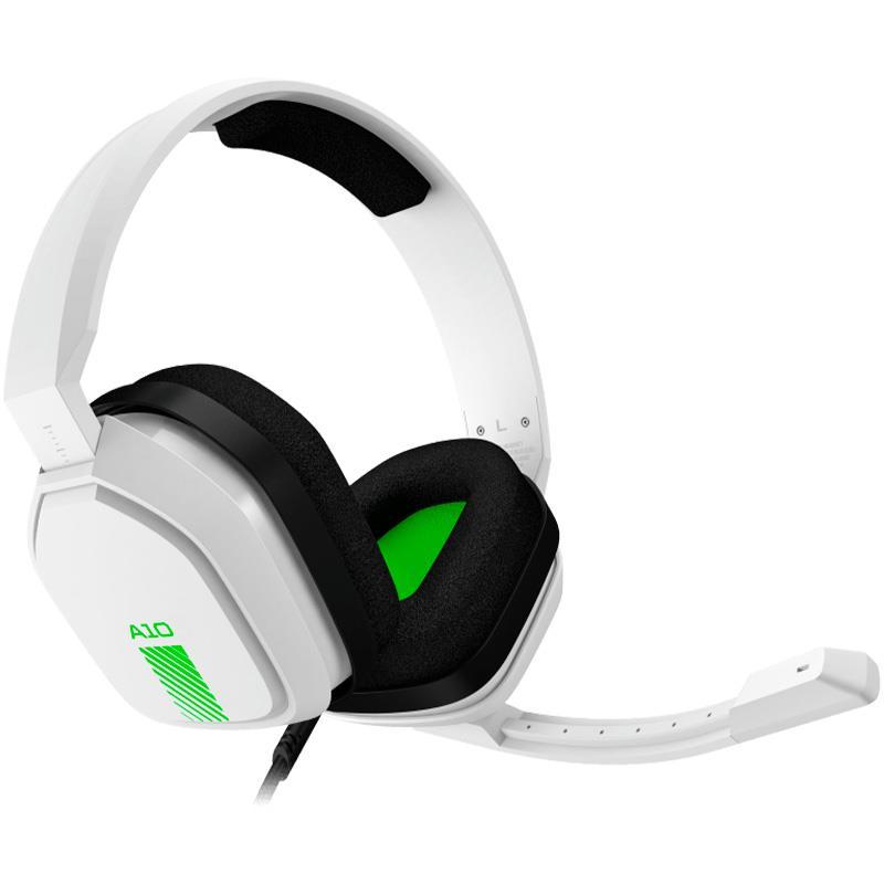 Auricular Logitech ASTRO A10 White / Green