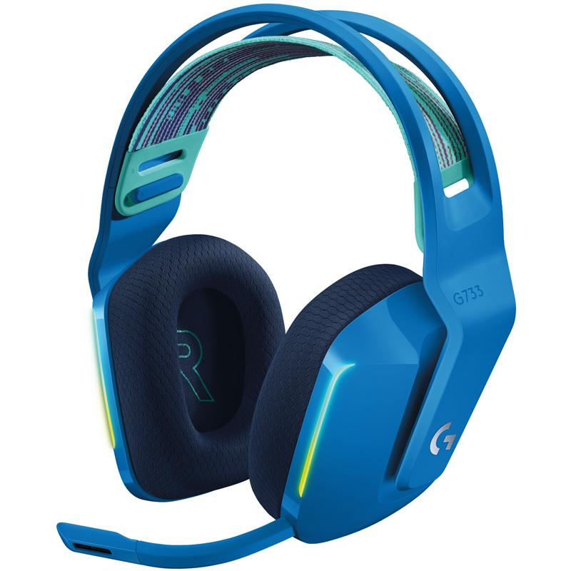 Auricular Logitech G733 Blue RGB Wireless