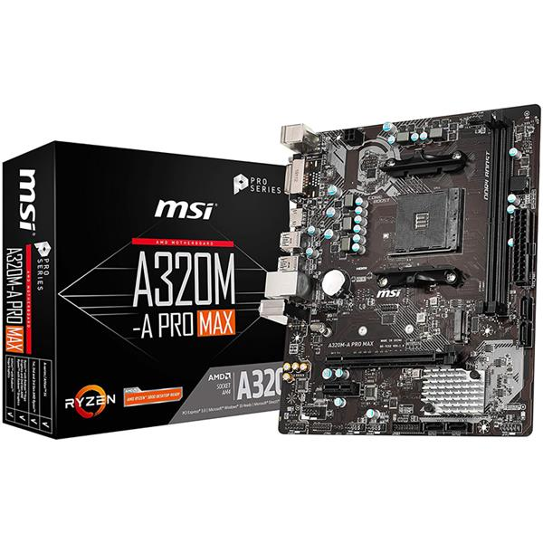 Motherboard MSI A320M A Pro Max AM4