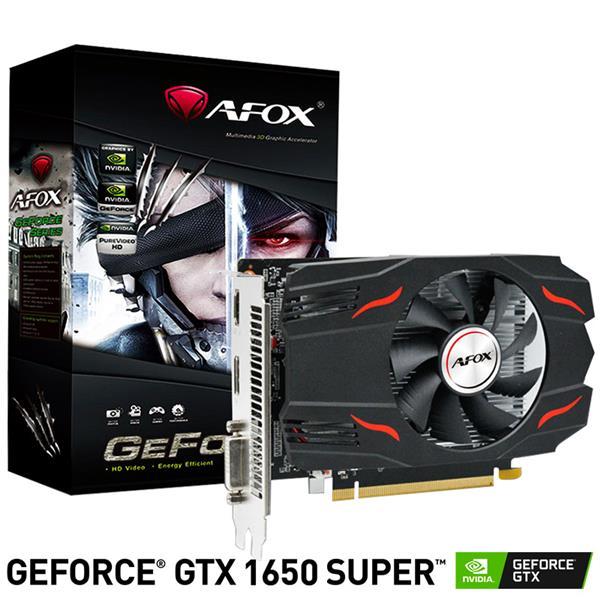 Placa de Video AFOX GTX 1650 Super 4GB GDDR6