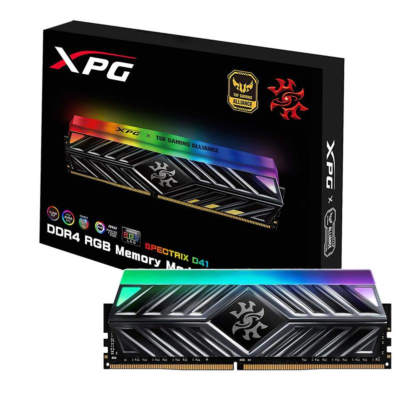 Memoria 8Gb 3000 Ddr4 Adata Xpg Spectrix D41 RGB Tuf Alliance