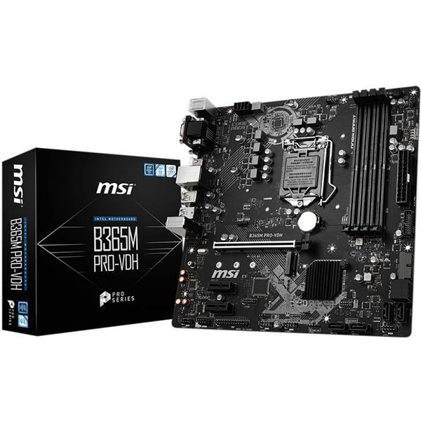 Mother MSI (1151) B365M Pro-VDH DDR4