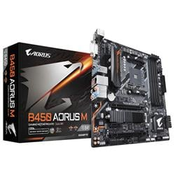 MOTHER GIGABYTE (AM4+) B450M AORUS M