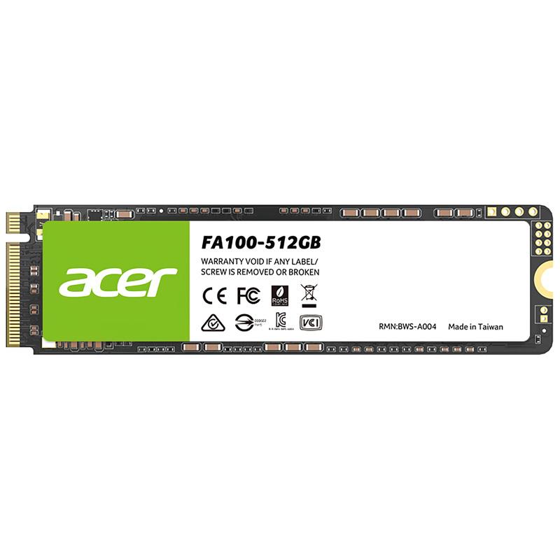 DISCO SOLIDO SSD 512GB ACER FA100 M.2 NVME PCIE X4 3.0