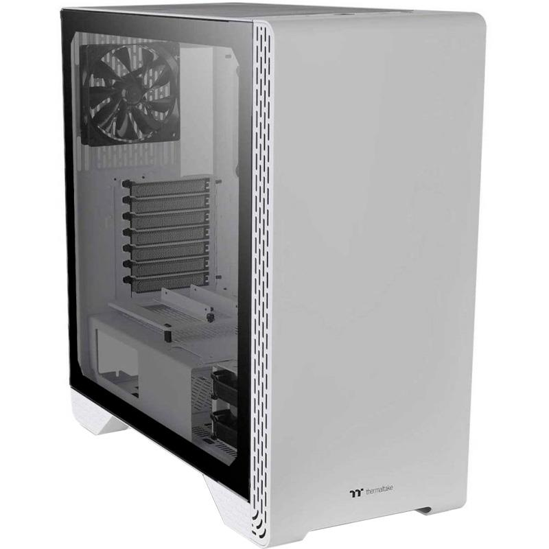 Gabinete ThermalTake S500 Snow Edition Tempered Glass